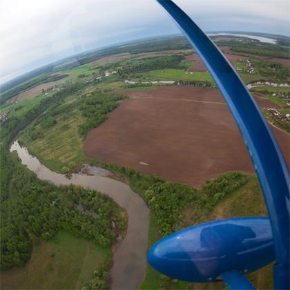 Аэропракт А-22: потрясающий обзор с места пилота