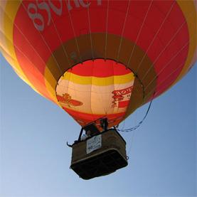 групповые полеты на воздушном шаре