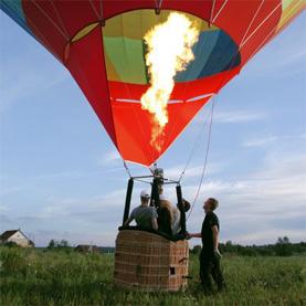 индивидуальные полеты на воздушном шаре