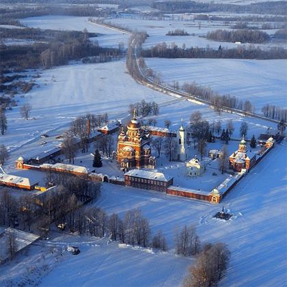 Бородино зимой