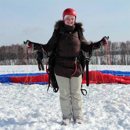 зимой тоже можно учиться летать