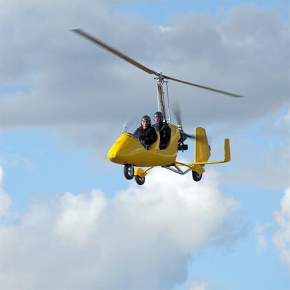 автожир MTO Sport в воздухе