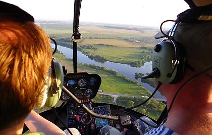 Урок пилотирования вертолета