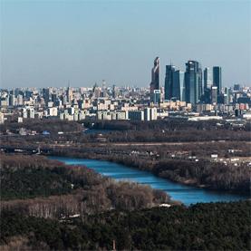воздушные экскурсии над Москвой