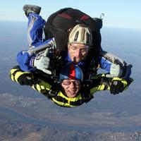 прыжок с парашютом в тандеме с 4000 метров в подарок