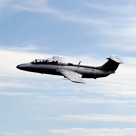 Новогодний пилотаж на реактивном самолете Л-29 Дельфин