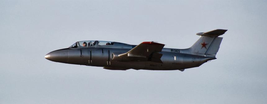 Полёт на л-29 в подарок 66
