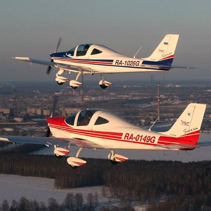 полеты на самолетах зимой