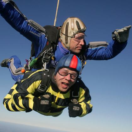прыжки с парашютом: свободное падение