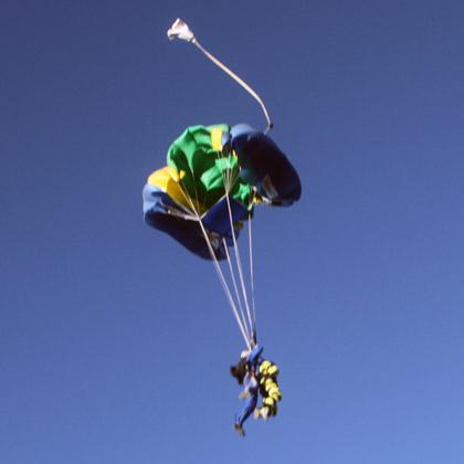 открытие парашюта
