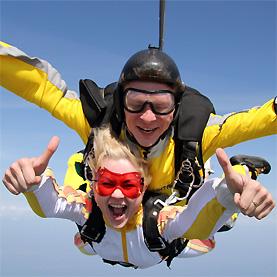 Прыжки с парашютом с 4000 метров