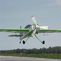 Як-54 на взлете